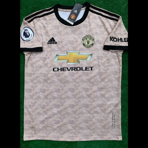 adidas Men's Manchester United 1920 Authentic Away Jersey